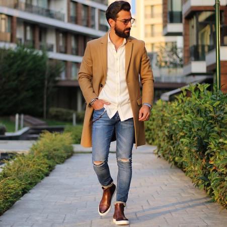 les essentiels du vestiaire homme avec le manteau d'hiver pour homme