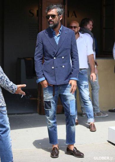 Guide pratique du jean pour homme jean patchwork