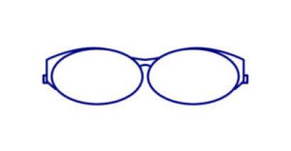comment bien choisir ses lunettes selon son visage ? lunette ovale