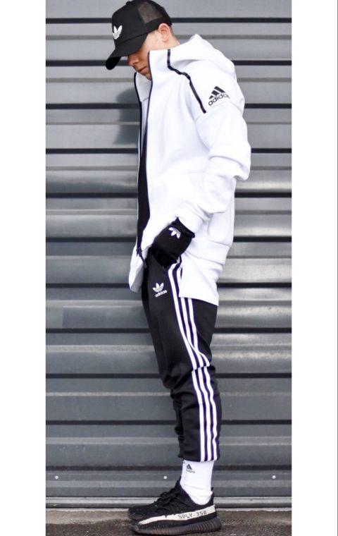 Le look parisien : c'est quoi ? jogging streetwear men adidas