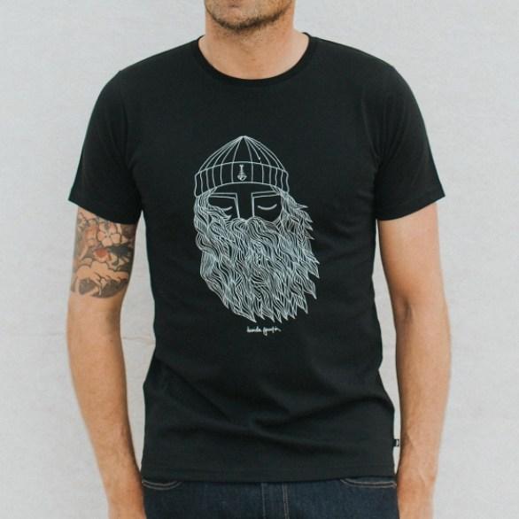 idée de pépites vêtements tee-shirt barbudo