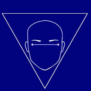 comment bien choisir ses lunettes selon son visage ? visage triangulaire inversé