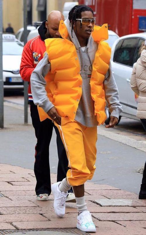Stylé comme une star : À qui ressemblez-vous ? ASAP ROCKY chanteur rappeur rapp homme musique artiste style stylé look street fashion mode fashionweek