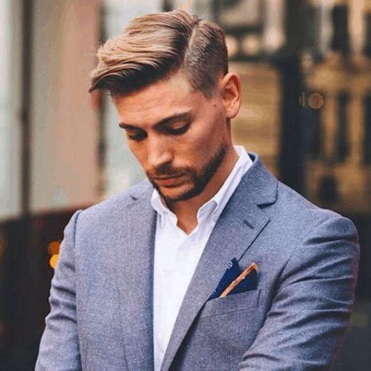 idée de coupes de cheveux tendance pour homme cheveux courts