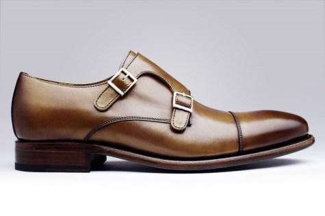 Tenue homme chaussure de ville Finsbury en cuir