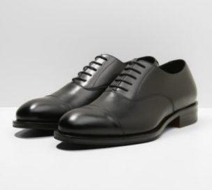 Tenue homme chaussure de ville en cuir