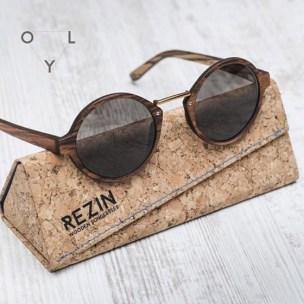 Tenue homme lunette de soleil en bois