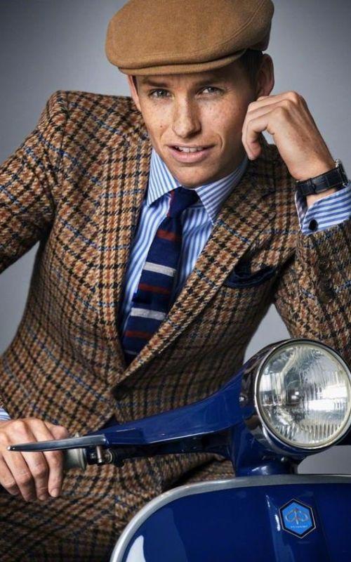 Stylé comme une star : À qui ressemblez-vous ? Eddie Redmayne artiste acteur homme tendance style stylé english anglais dandy mode
