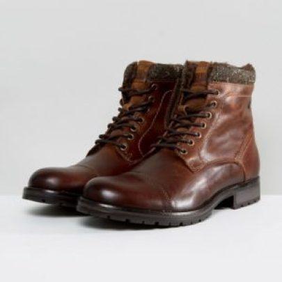 tenue homme idée de chaussures bottines en cuir