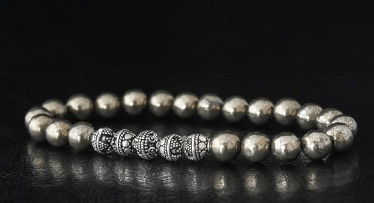 bracelet homme casteld en perles