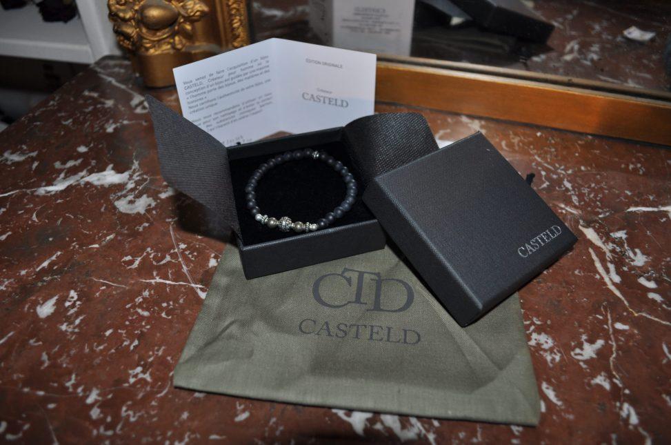 créateur de bijoux pour homme Casteld bracelet