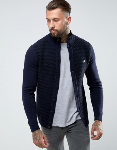 Cardigan Fred Perry tenue homme