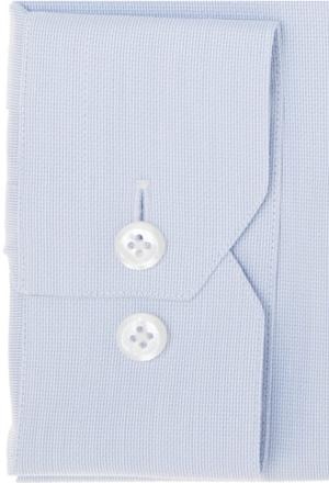 chemise blanche première manche focus détail