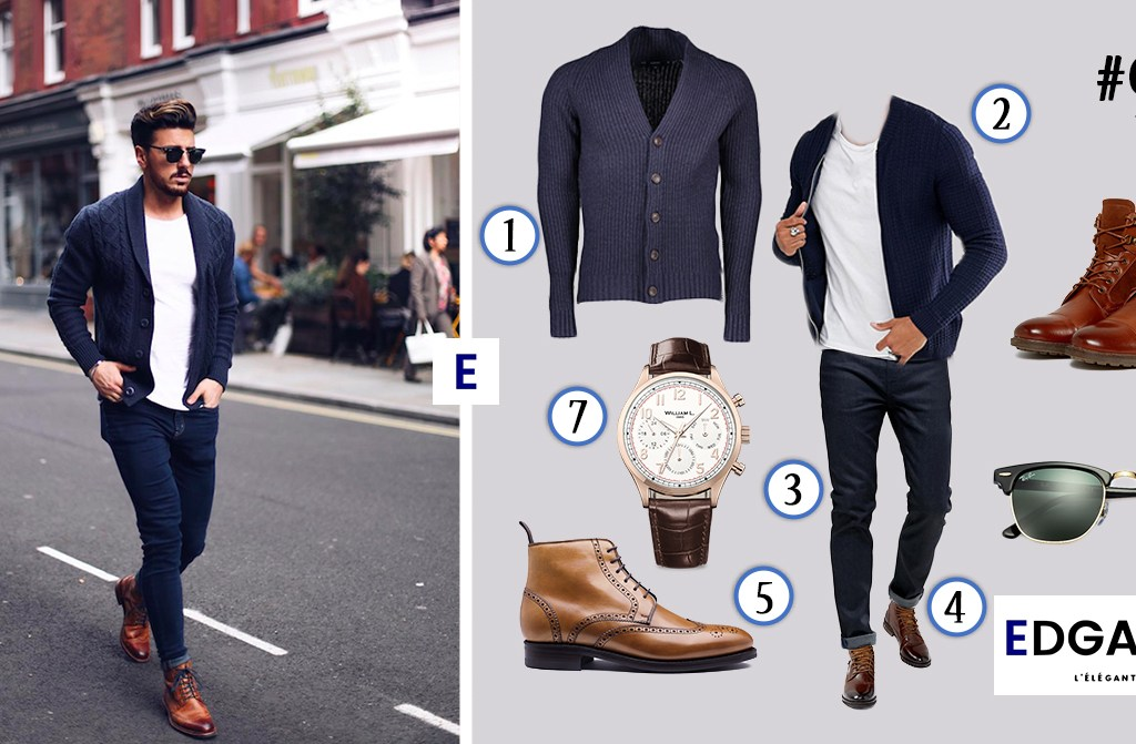 idée de tenue homme Edgard L'élégant