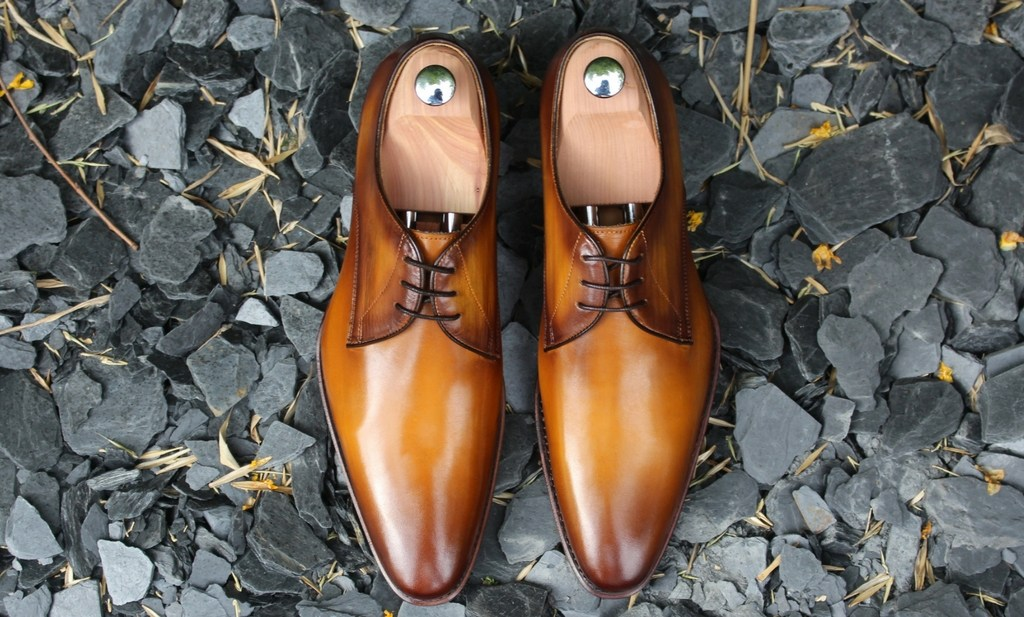 Les Crafteurs chaussures en cuir homme