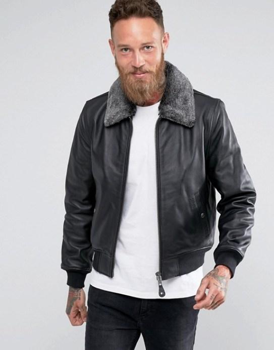 Blousons aviateur Schott tenue homme