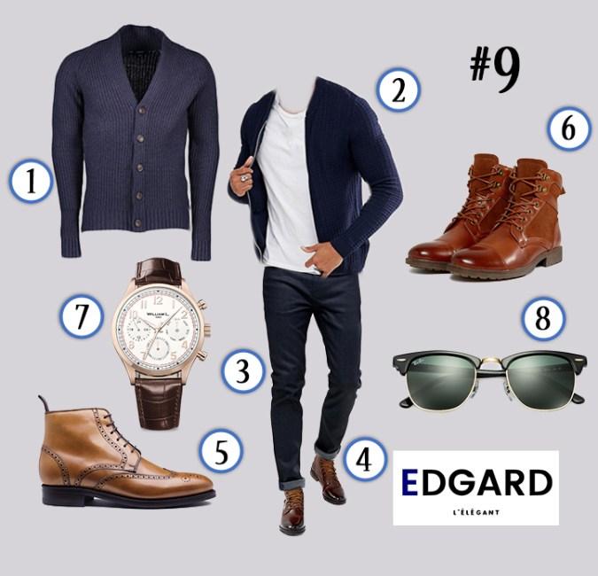 tenue homme vêtements idée de look