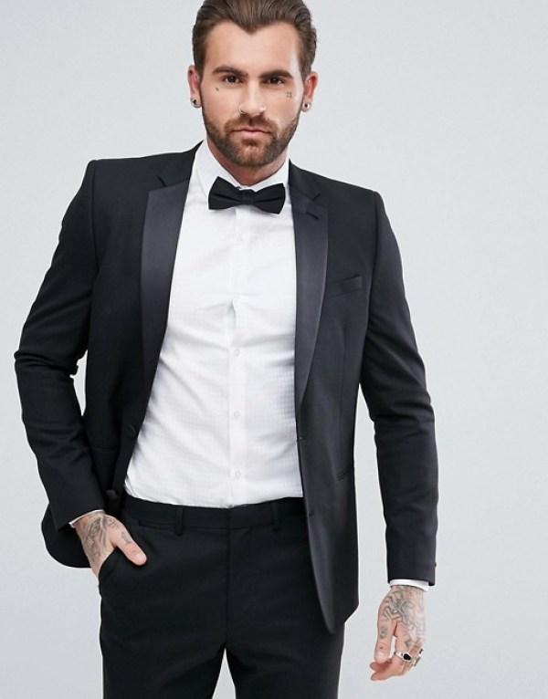 tenue pour nouvel an veste noir