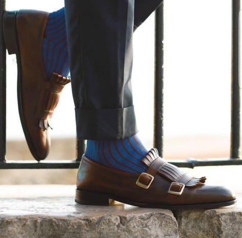 Vos habitudes modes 2017 à oublier, en route pour 2018 ! homme men style tendance shoe chaussure pants pantalon cuff lenght longueur retrousser nouvel an new year