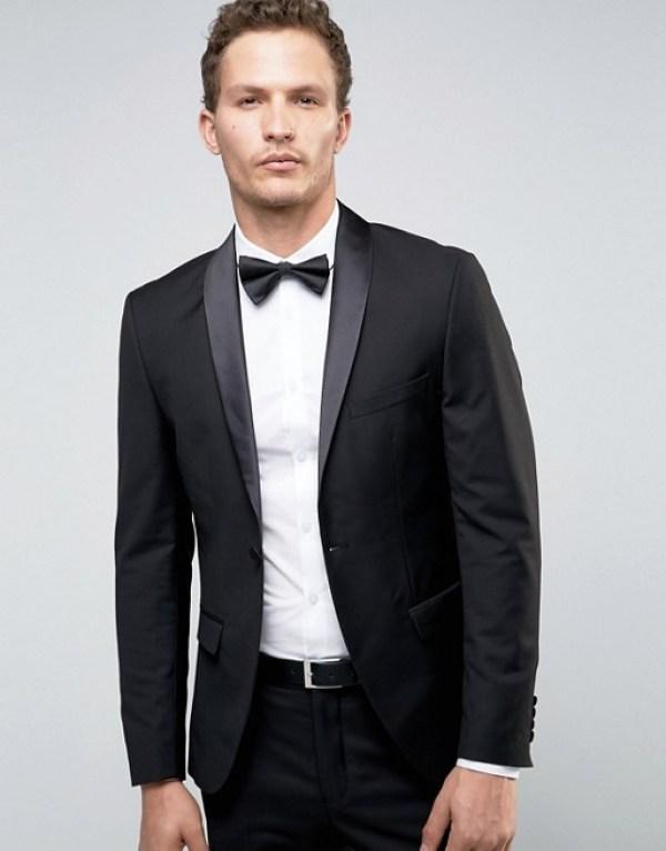 tenue pour nouvel an smocking noir