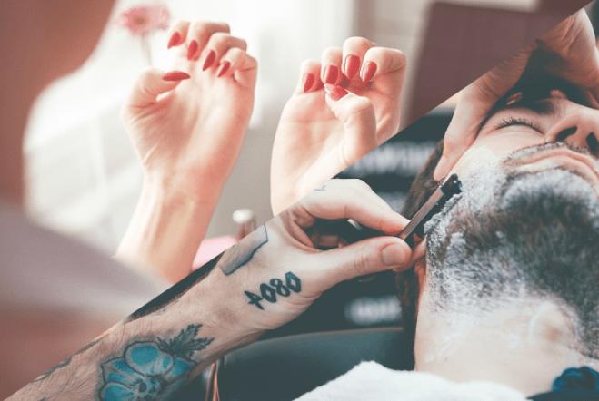idée de cadeau St valentin Barbershop soin big moustache
