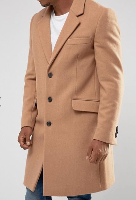 trouver des idées de look pour homme manteau pardessus beige