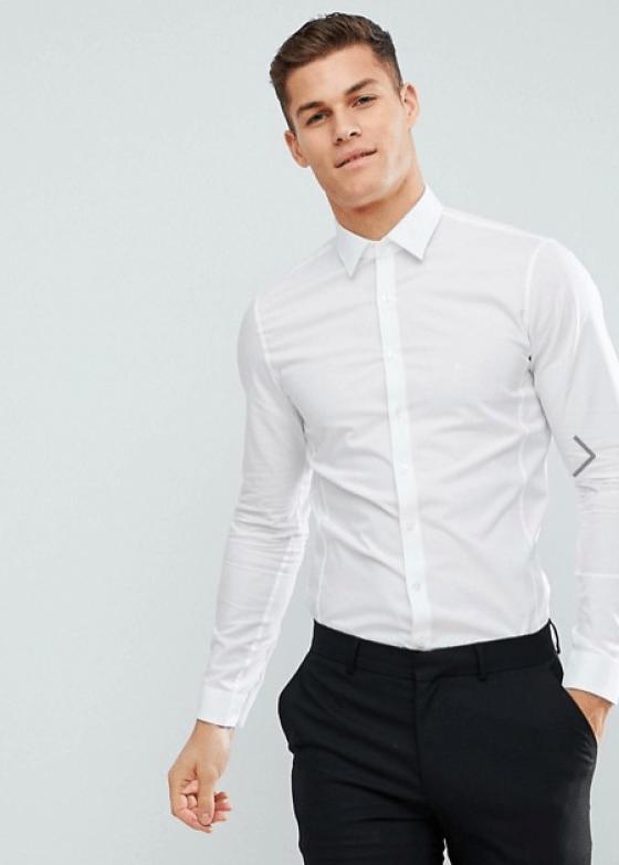chemise blanche pour homme Calvin Klein