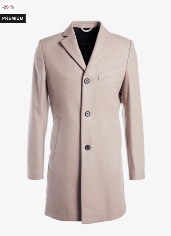 idée de look pour homme avec manteau en laine