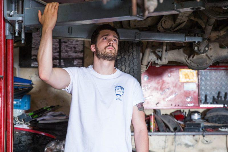 Tee-shirts pour homme Edgard Paris brodé