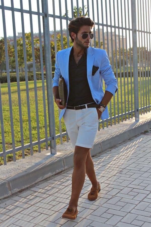 5 façons stylées de porter un short chino pour homme