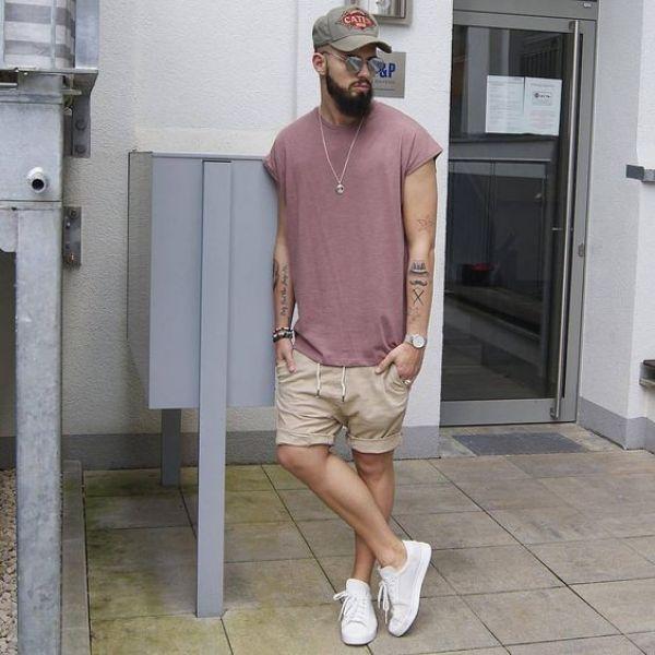 comment porter un short de jogging pour homme