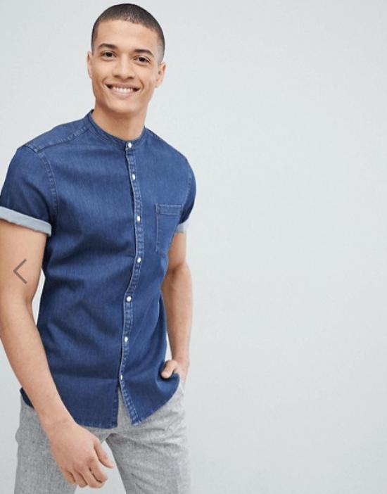 idée de look homme chemise jean