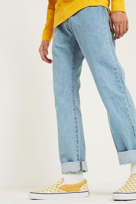 idée de look homme style streetwear jean levis