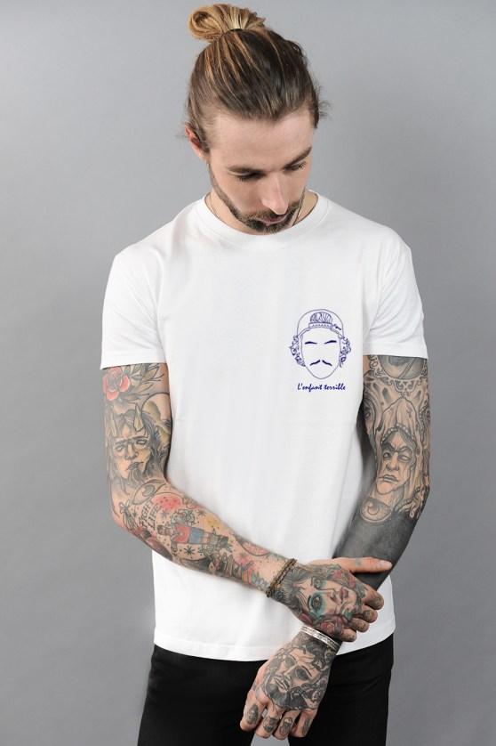 idée de look pour homme t-shirt Edgard Paris créateur original