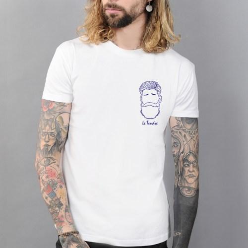 tee shirt homme imprimé créateur edgard paris