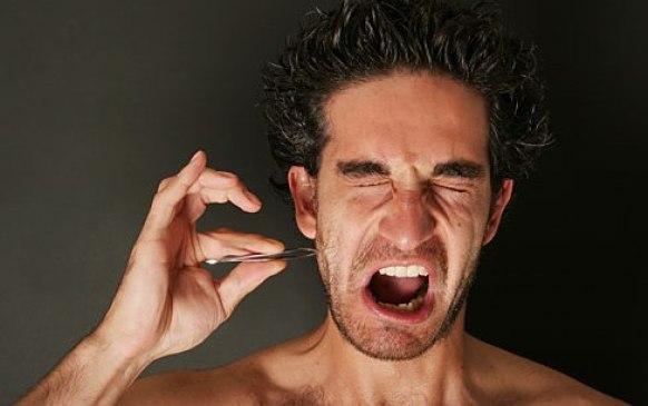supprimer les poils incarnés de la barbe