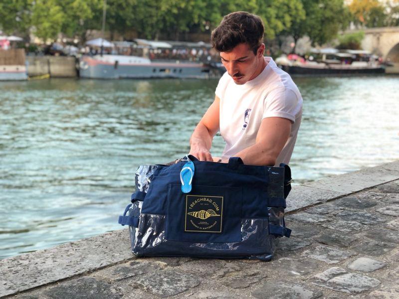sac de plage pour homme beachbag