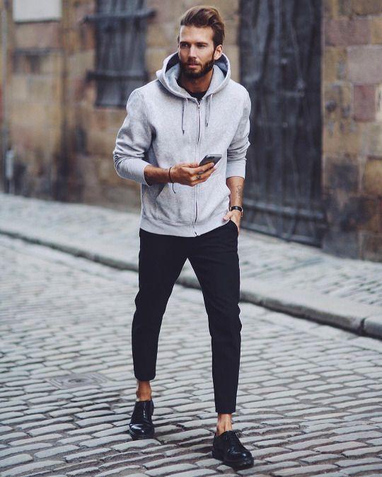 comment bien porter le sweat-shirt et hoodie pour homme