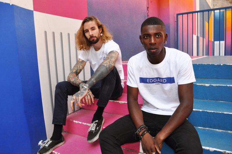 Tee-shirt brodé fabriqué en France