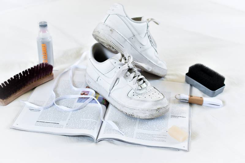 conseils pour nettoyer ses baskets blanches