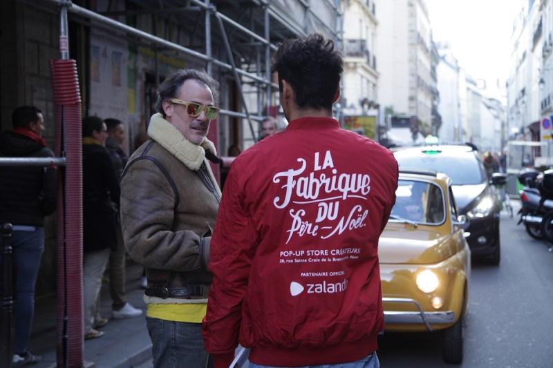 Pop up store la fabrique du père noël Edgard Paris