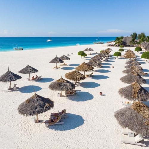 Plage de Zanzibar et son sable blanc