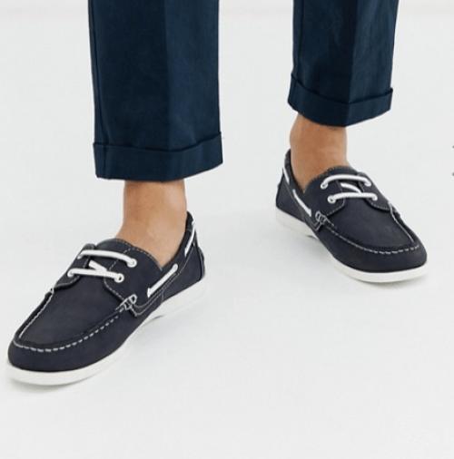 chaussure élégante bleu idée de look