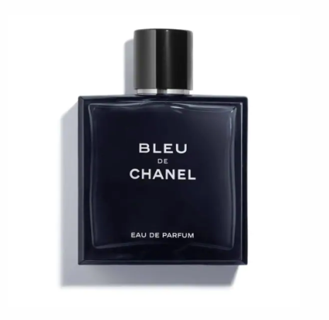 Parfum bleu de chanel look masculin
