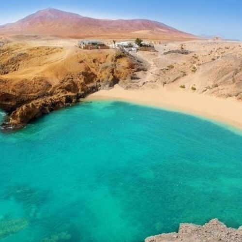 plage paradisique Lanzarote