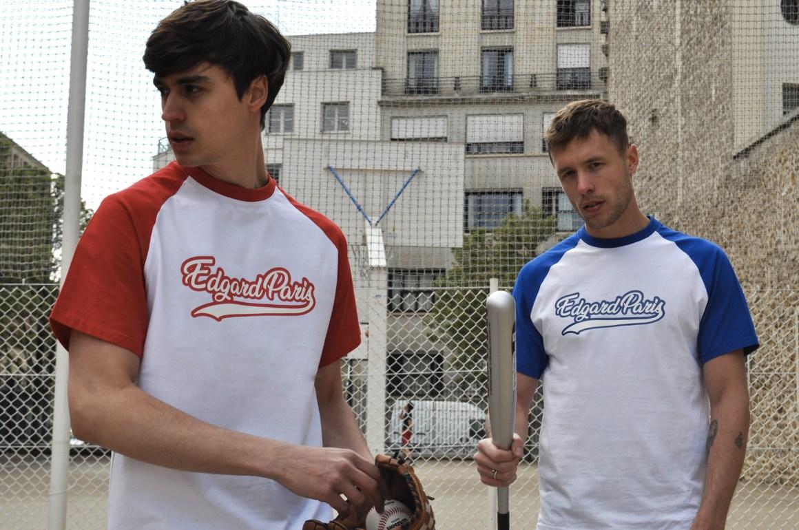 Tee-shirt baseball rouge collection printemps-été 2019