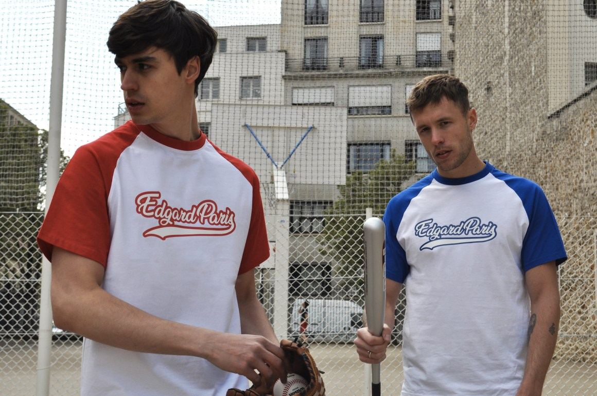 Tee-shirt baseball rouge collection printemps-été 2019