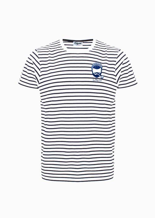 Tee-shirt marinière Edgard paris look marin