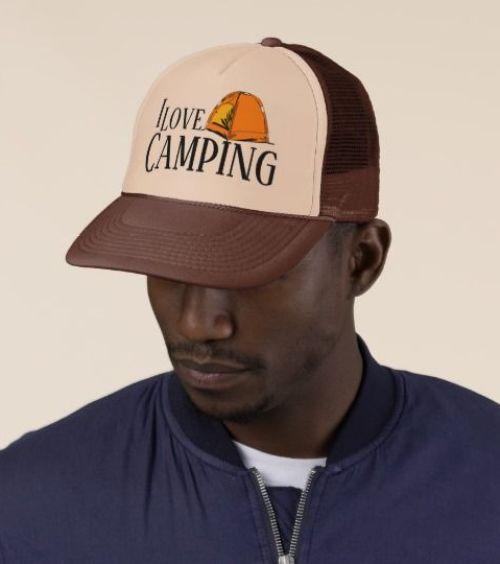 Trucker modèle de casquette