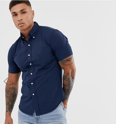 chemise manche courte idée de look pour l'été